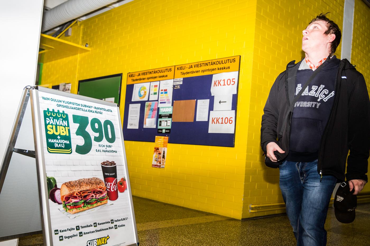 Subway Oulun Yliopisto