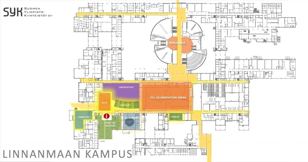 Linnanmaan Kampukselle Suunnitellaan Yritysaluetta